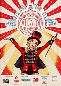 Cartel Bilboko Kalealdia 2015